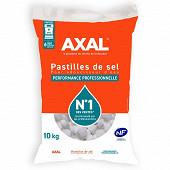 Axal pastilles de sel pour adoucisseur d'eau sac 10 kg