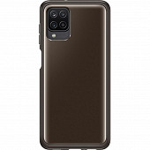 Samsung Coque souple ultra fine noire pour Galaxy A12 EF-QA125TB