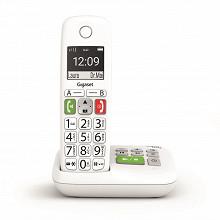Gigaset Téléphone sans fil répondeur E290 A SOLO BLANC