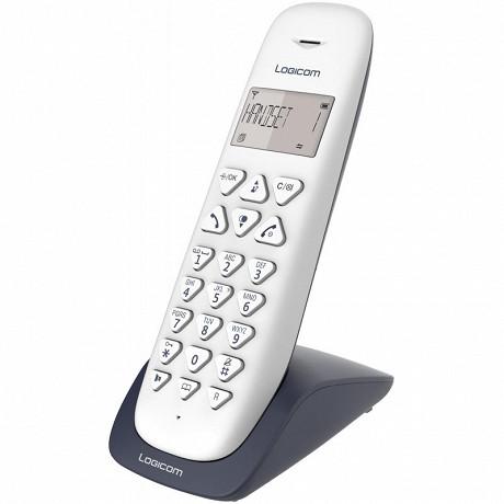 Logicom Téléphone sans fil solo VEGA 150 SOLO ARDOISE
