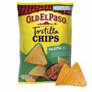 Old El Paso chips crunchy fajita 300g