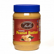 Mississippi belle peanut butter crunchy 510g