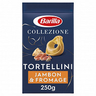 Barilla pates colezione tortellini jambon fromage 250g