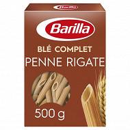 Barilla pates intégrale penne rigate au blé complet 500g