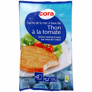 Cora haché de thon tomate 2x100g