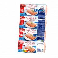Findus 4 filets de saumon rose du Pacifique MSC 440g