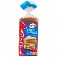 Cora pain de mie spécial sandwich nature maxi format 825g