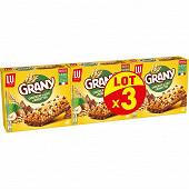 Grany barre céréales chocolait au lait et noisettes 3x138g