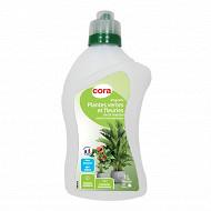 Cora engrais liquide plantes vertes à diluer 1L