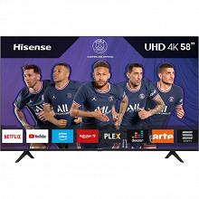 "Hisense Téléviseur smart tv 4k ultra hd hdr10+ 146cm - 58"" 58A7100F"