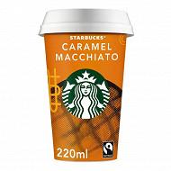 Starbucks boisson lactée au café arabica et saveur caramel 220 ml