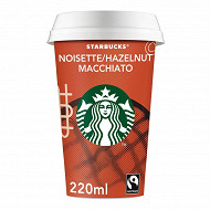 Starbucks boisson lactée au café arabica et saveur noisette 220 ml