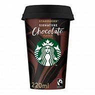 Starbucks signature chocolate flavour cup 220ml