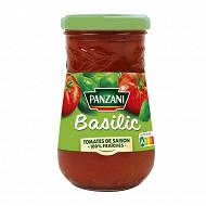 Panzani sauce tomate basilic 210g