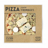 Pizza 4 fromages 420g