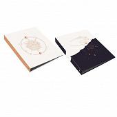 Clementina frog classeur carton decor astrologie a4 dos 40mm