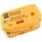 Patrimoine gourmand beurre d'Isigny AOP doux de baratte 250g