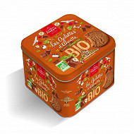 Gamme bio coffret fer galettes chocolat-noisettes 367g