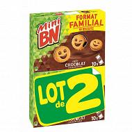 Mini bn familial chocolat 350g x 2