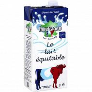 FaireFrance lait 1/2 écrémé stérilisé UHT 1 l