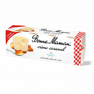 Bonne Maman crème caramel 8x100g format gourmand