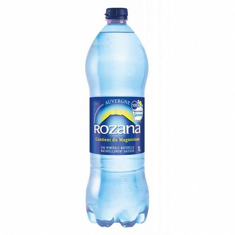 Rozana eau minerale naturelle gazeuse 1l