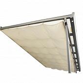 Rideau d'ombrage pour toit terrasse 130 gr/m2 surface 12.11 m2