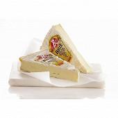 Brie label rouge au lait thermisé grande selection  1/2 affiné Paysan breton