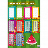 Poster multiplicayions 52x76cm