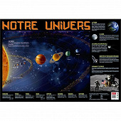 Poster univers 52x76cm