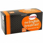 Cora thé English breakfast 25 sachets 45g