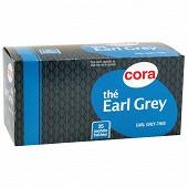 Cora thé earl grey 25 sachets 45g