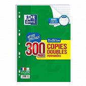 Oxford copies doubles perforées 300 pages 90g seyes