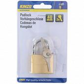 Kinzo cadenas 40 mm avec 3 clefs