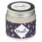 Bougie parfumée senteur vanille 65 g