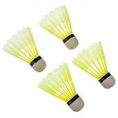 Jeu de 4 volants badminton