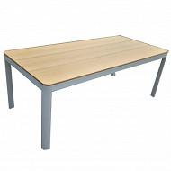 Table jardin en bois composite