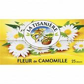 La tisanière fleur de camomille 25 sachets