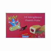 14 mini fourré fraise pp 420g