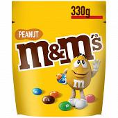 M&M's Peanut bonbon chocolat cacahuète 330g