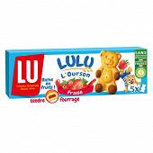 Lulu l'ourson à la fraise x5 150g