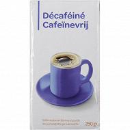 Café moulu décaféiné 250g