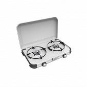 Réchaud 2 feux combo camping kitchen 2 cv + 2 cv 470