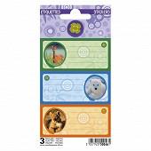 Animeauxsauvages Nature future 9 étiquettes adhésives 3 planches 75x100 3 visuels