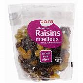 Mélange raisins moelleux Cora 250g
