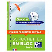 Elba 60 pochettes perforées eazin en bloc format A4