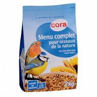 Cora menu complet pour oiseaux de la nature sachet 2kg