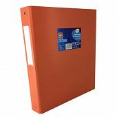 Cora classeur pvc 4 anneaux orange diam 30 mm dos 40 mm