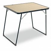 Table de camping pliante 80x60 cm.