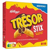 Trésor stix chocolat noisette 102g